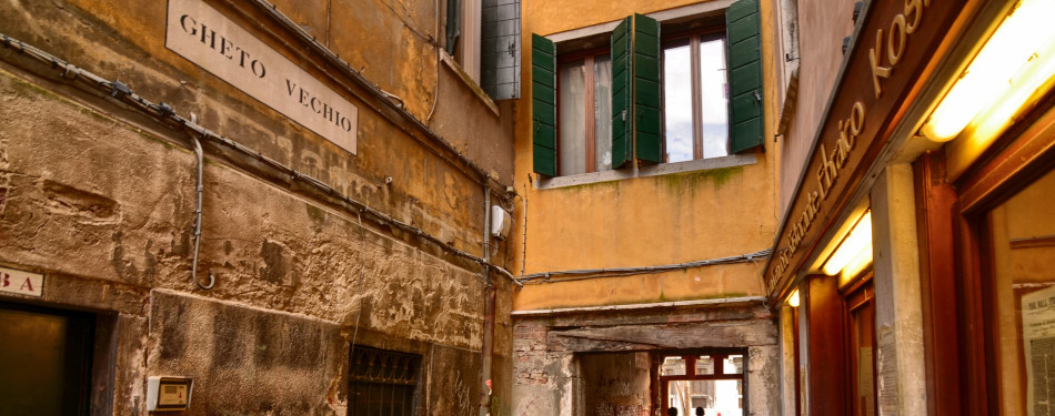 Jewish ghetto in Venice