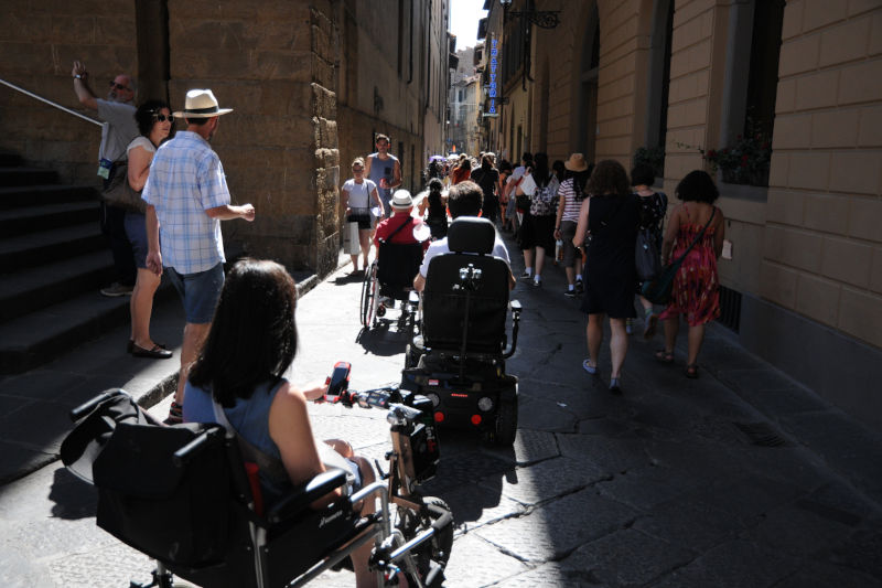 Tour accessibile di Firenze