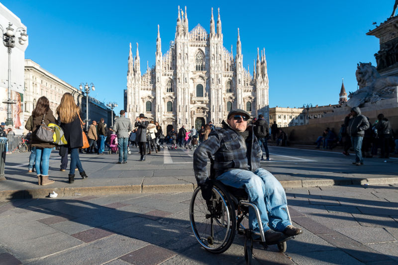 Milan Accessible tour